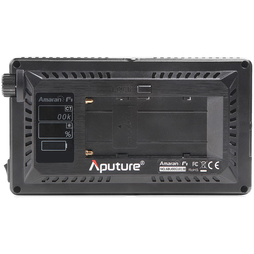 apurture F7 LED light
