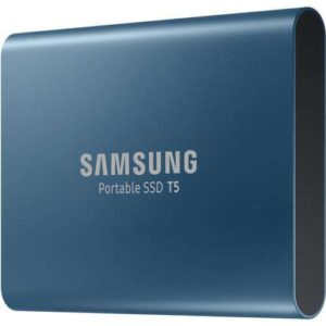Samsung 500GB T5 Portable Solid-State Drive (Blue) 2